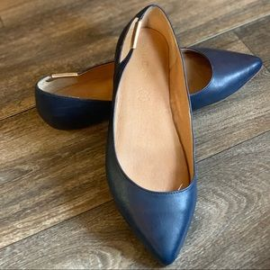 Blue Aldo Flats